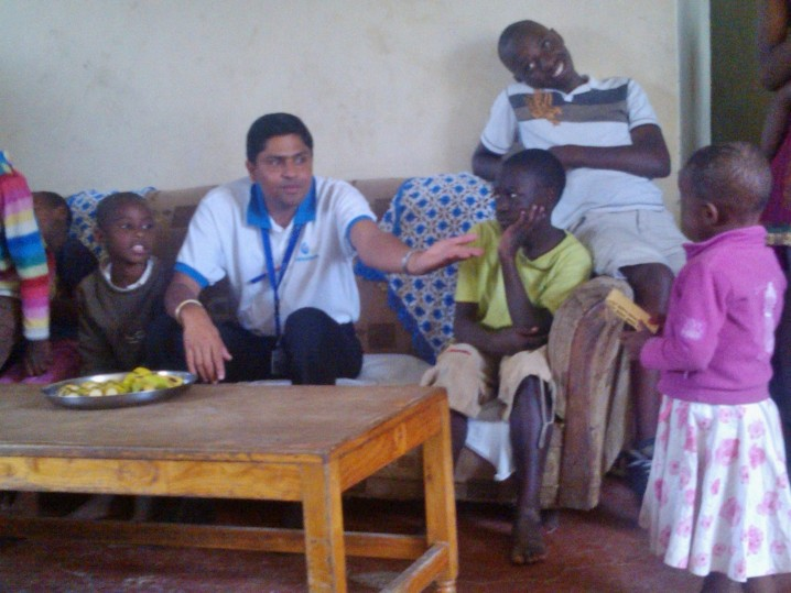 End Year Visit to Havila Children's Home